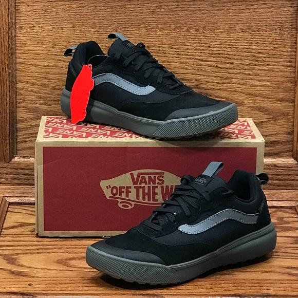 Vans Ultrarange Black Pewter Shoes Size